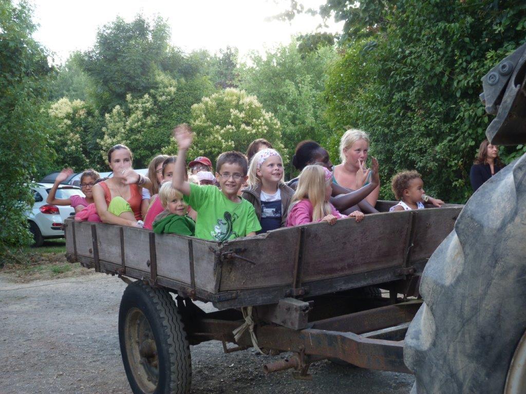 Camping avec balade en calèche en Vendée
