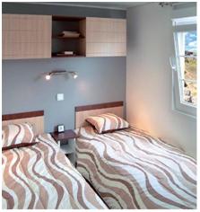 chambre mobil-home confort vendée