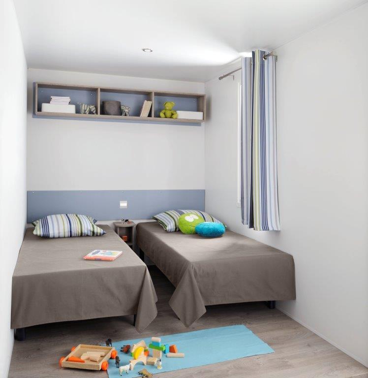 chambre enfant du mobil home en location