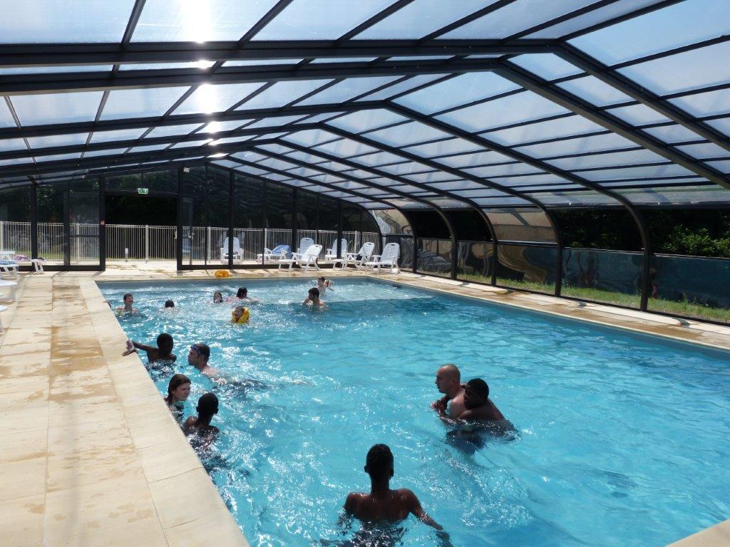 Camping 3 étoiles avec piscine couverte