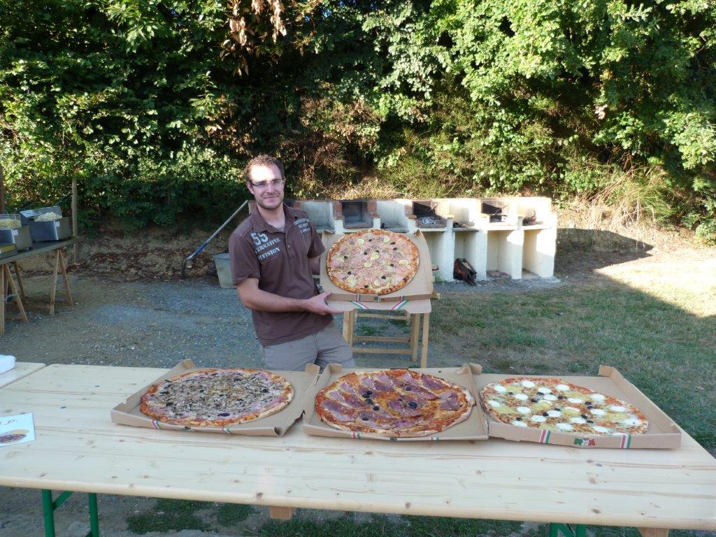 Soirée pizza au camping en Vendée