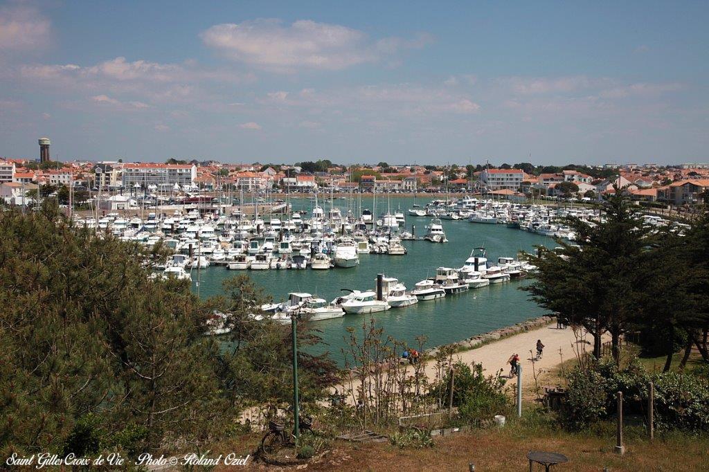 Vu du port de Saint Gilles Croix de Vie