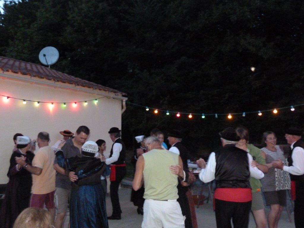 Soirée dansante au camping en Vendée