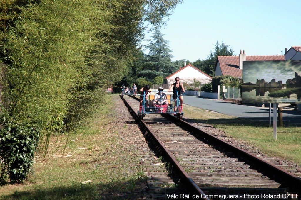 Velo rail de Commequiers