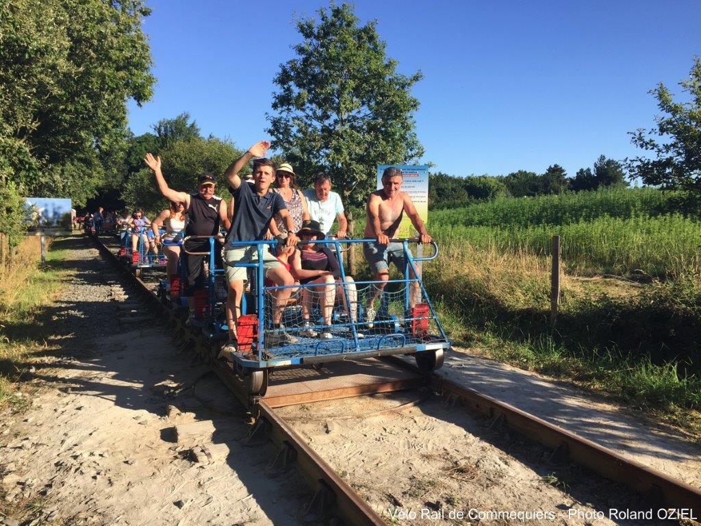 Balade en vélo rail