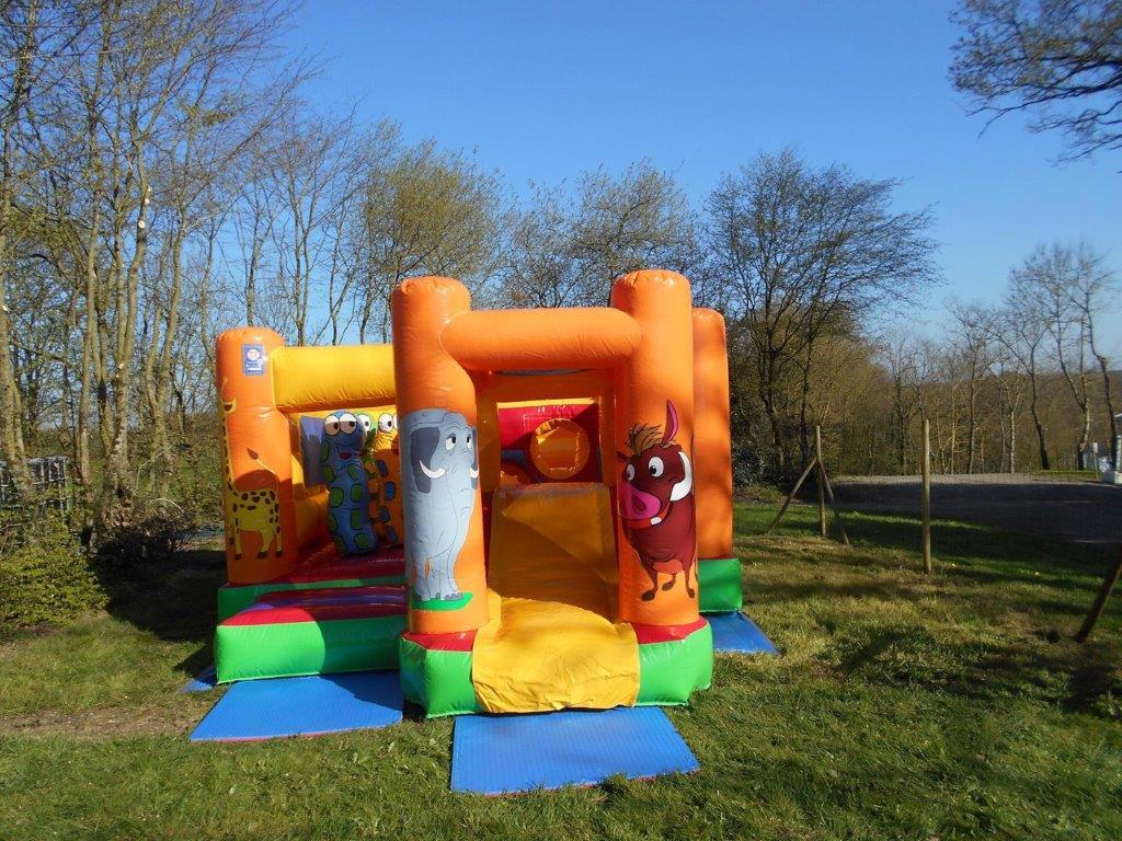 Structure gonflables pour les enfants