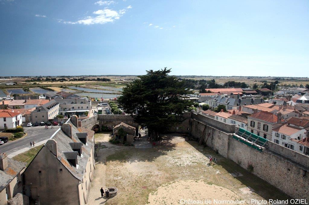 Vu du chateau de Noirmoutier