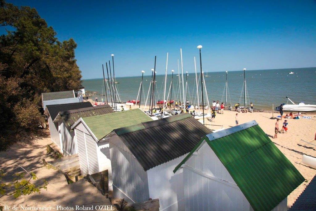 Plage de Noirmoutier proche du camping