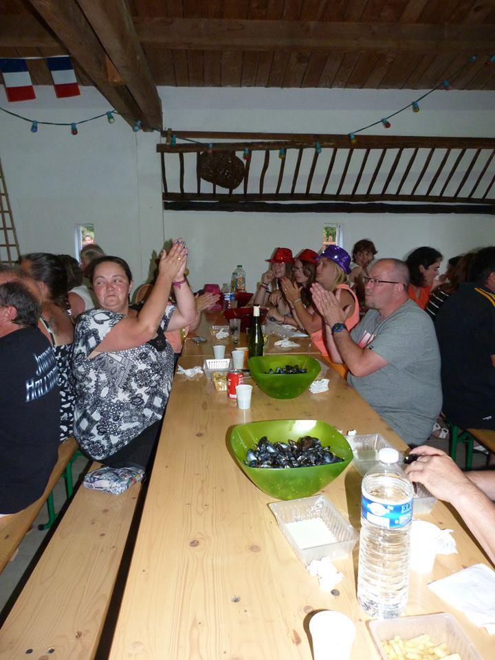 Soirée moules frites en Vendée
