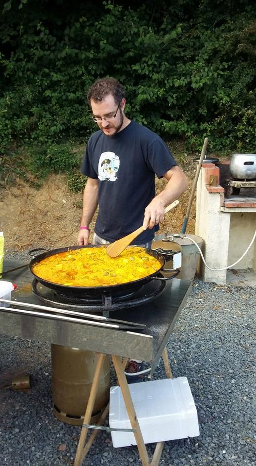 soirée au camping en Vendée