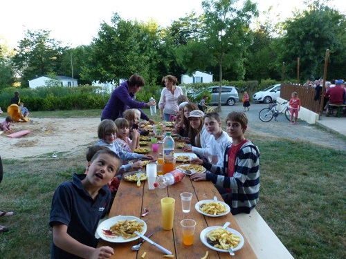Camping Vacaf, calme et familial