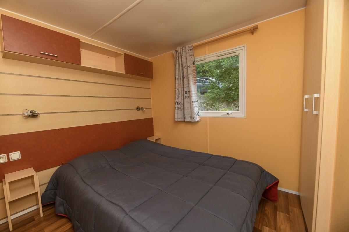 Chambre mobil-home Cordélia Camping Vendée