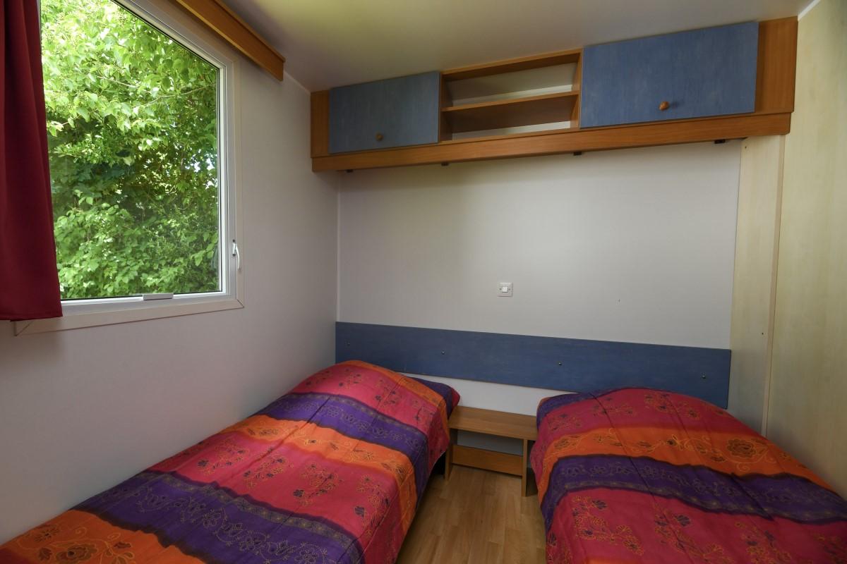Chambre enfants camping vendée