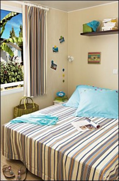 Chambre Mobil Home camping Vendée