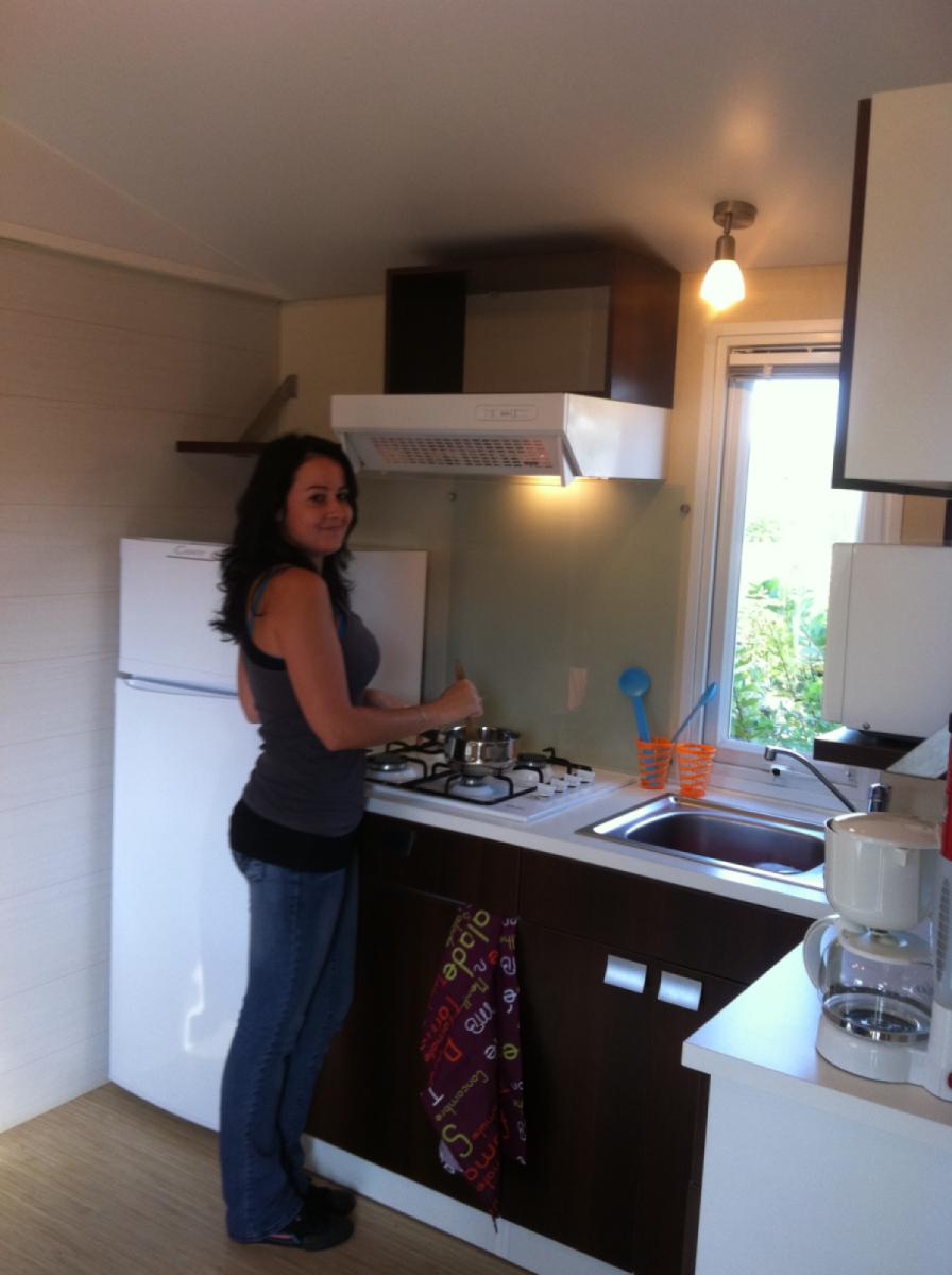 Cuisine Mobil Home Camping Vendée