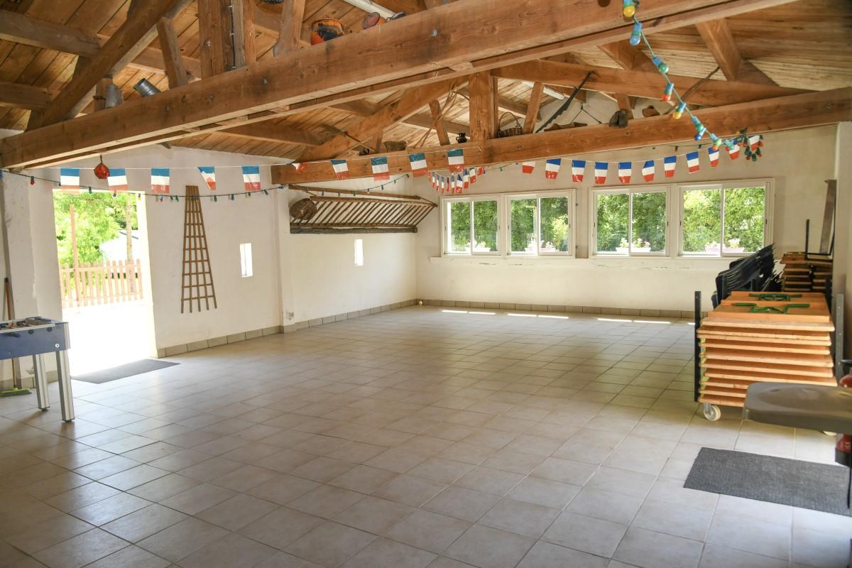 Salle des fêtes camping Vendée
