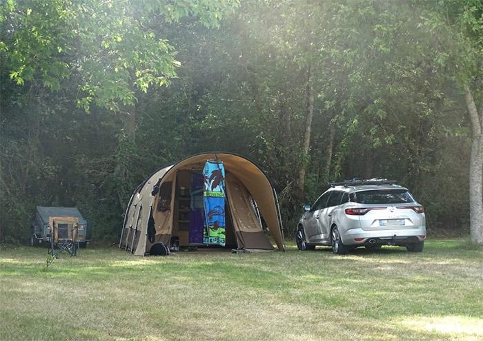 camping avec emplacement nature en Vendée