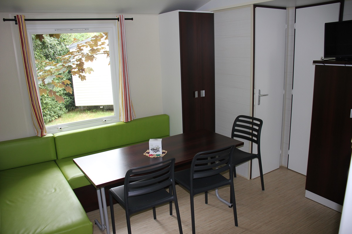 Mobil-home 3 chambres Camping Vendée