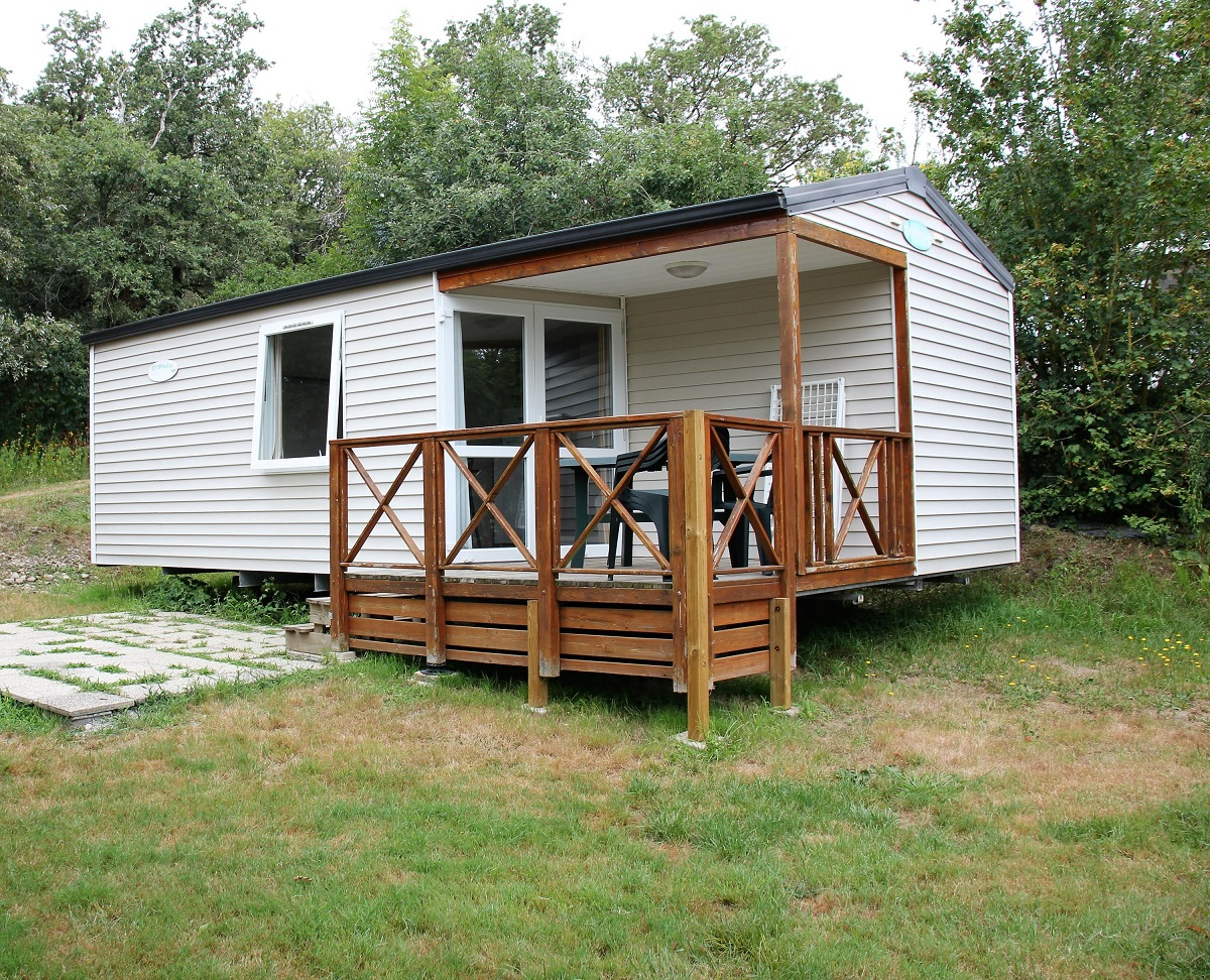 Mobil-home 2 chambres Camping Vendée